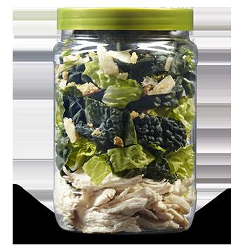 Kale Chicken Caesar