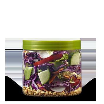 Half Crunchy Thai Salad